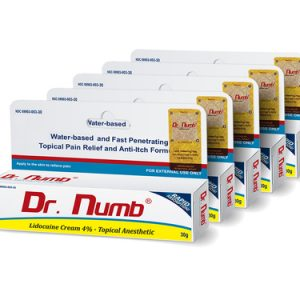 Dr. Numb 4% Topical Anesthetic Cream