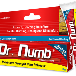 Dr. Numb® 5% Lidocaine Cream