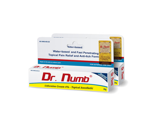 Dr. Numb Topical Anesthetic Cream- 2 Tubes