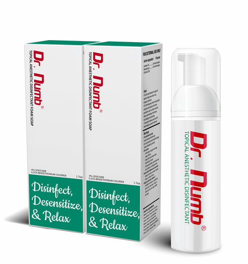 Dr. Numb Disinfectant Foam Soap- 2 Bottles
