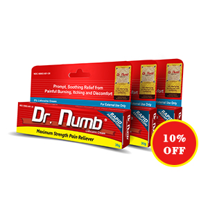 Dr. Numb® 5% Lidocaine Cream X 3