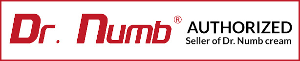 Authorized Seller of Dr. Numb- Tattoo Pain Relief