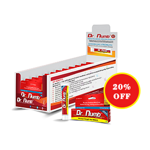 Dr. Numb® 5% Lidocaine Cream X 12