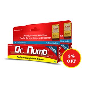 Dr. Numb® 5% Lidocaine Cream X 2