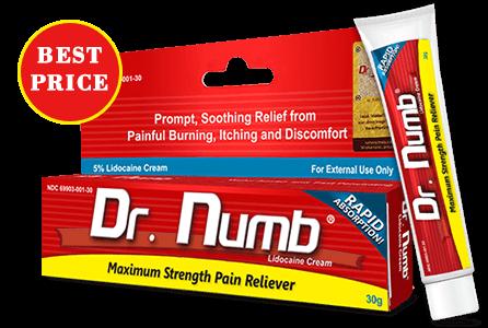 Dr. Numb Numbing Cream | Tattoo Pain Relief Cream | Painless Tattoo