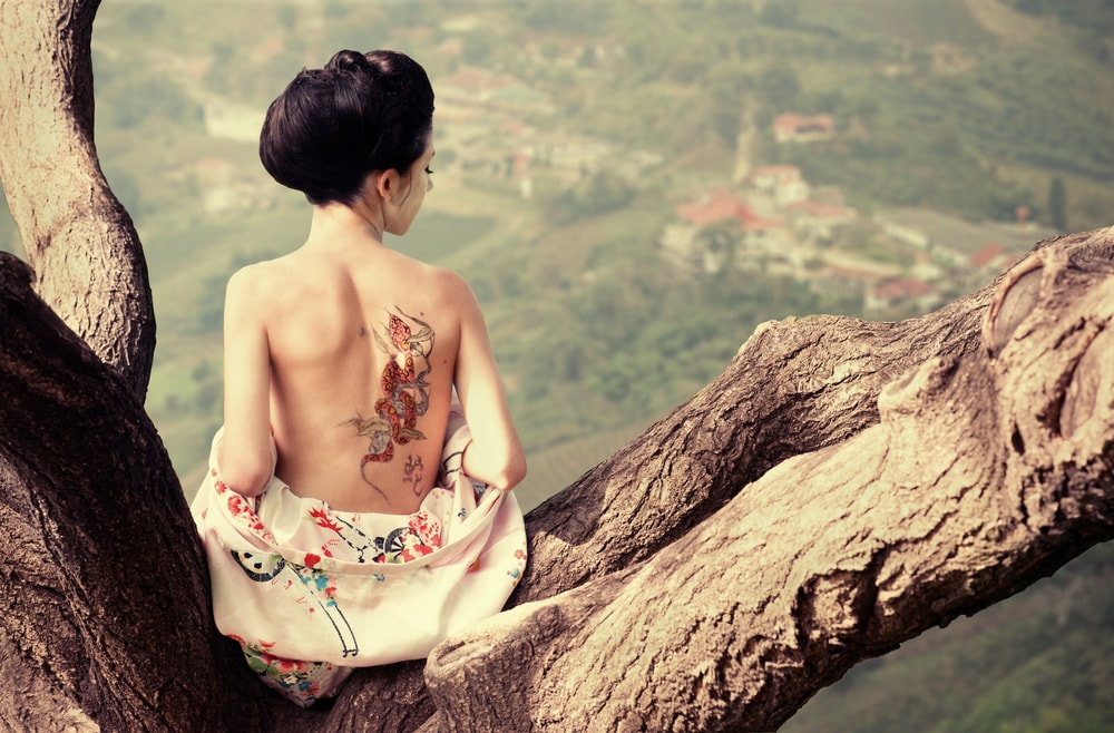 Beautiful Chinese Tattoos with Meaning