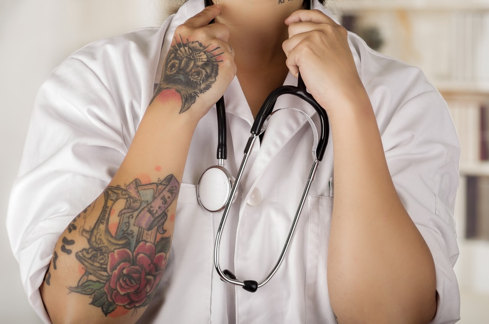 What Is It Like To Be a Tattooed Doctor?